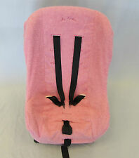 NEW Maxi Cosi Priori Group 1, Stage 2 Car Seat 100% cotton terry cloth Pink