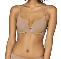Triumph Lovely Micro WHPM Underwired Half Cup Padded Multiway Bra Skin CS
