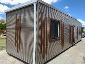12x3m Transportable Building, Demountable, Cabin, Granny Flat, Donga