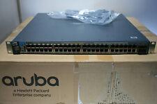 HP Aruba HPE J8693A ProCurve 3500yl-48G Switch 48-port PoE Rack Ears Power Cord