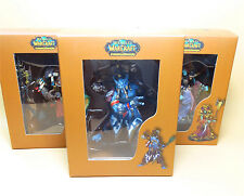 LOT OF 3 WOW World of Warcraft Figure NEW IN BOX 10CM