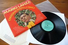 MARIO LANZA - CHRISTMAS HYMNS & CAROLS - EXCELLENT VINYL LP, TESTED PLAYS GREAT