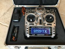 EXCELLENT FrSky Taranis X9D Plus with X8R receiver, case and accessories!