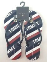 Tommy Hilfiger Women's Dark Blue Size 8 Sandal Thong SY New TH Hilfiger New