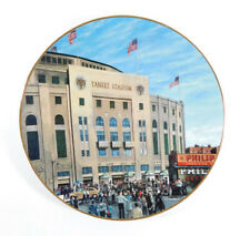 1993 DELPHI Yankee Stadium The House That Ruth Built Collectors Plate w/COA