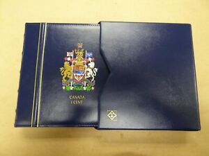 Lighthouse Vista Canada Coin Album Penny 1858-2012  Free matching slipcase