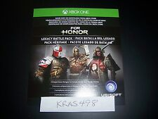 For Honor Legacy Battle Pack Code DLC Download XB1 XB 1 Xbox One