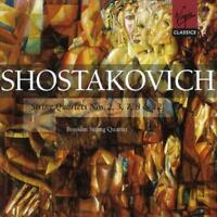 Borodin Quartet - Shostakovich: String Quartets Nos. 2, 3, 7, 8 & A (NEW 2 x CD)