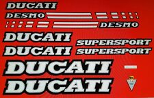 DUCATI 900 SUPERSPORT MODEL  PAINTWORK DECAL KIT