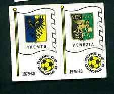 Figurina Calciatori Panini 1979-80 N.560 Scudetti Trento/Venezia! Nuova!!