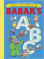 Babar's ABC, New, Brunhoff, Laurent de Book