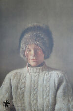 """Andrew Wyeth """"My Young Friend"""" Collotype Print 241/300 Female Portrait 1976"""