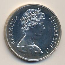 BERMUDA $1.00, 1972 silver PROOF