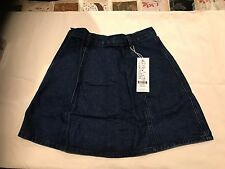 Small Like Unbranded Short Skirt Jeans  Brand w/tag Size M   W 66 / L 41