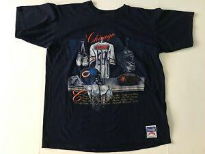 RARE Authentic Vintage Chicago Bears Nutmeg Mills Team NFL Shirt