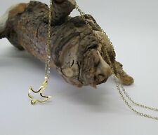 "Dove of Peace - Necklace Pendant - Gold Tone - 18"" Chain"