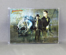 INDIANA JONES KINGDOM OF THE CRYSTAL SKULL No: 9 OF 10 FOIL CARD - NEW (TOPPS)