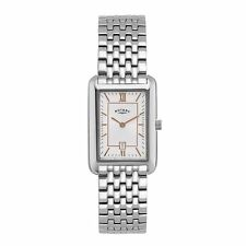 Women's Rotary Silver Strap Wristwatches
