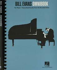 More details for bill evans omnibook for piano by bill evans book the cheap fast free post