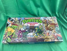 teenage mutant ninja turtles Pizza Power Board Game 1987  (INCOMPLETE)