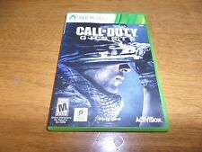 Call of Duty: Ghosts (Microsoft Xbox 360, 2013) 2 DISCS