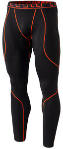TSLA Men's Thermal Compression Pants, Athletic Sports Running Baselayer Leggings