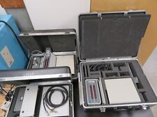 Lot of 3 OptoDyne Laser Interferometer Systems in case - w/ accessories
