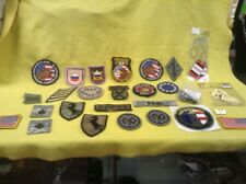 Military Patches Lot Of Patches And Decals