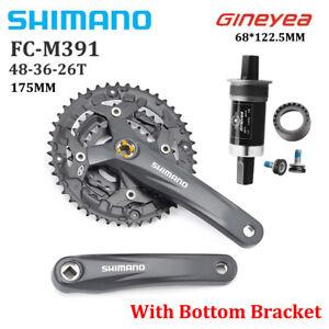 Shimano Acera FC-M391-48T Crankset 7/8/9 Speed MTB Square Hole Crankset 175mm