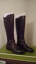New Beautiful-Knee High Oxford Brown Boots/Naturalizer/Size 9/Width W