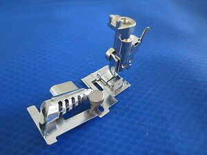 Bias Binder Foot with Adapter For BERNINA OLD STYLE Machines 530 730 830 801 930