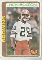 FREE SHIPPING-FAIR TO POOR-1978 Topps  #329 Ron Bolton BROWNS
