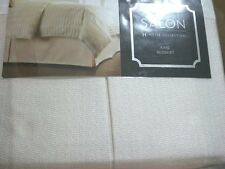 Hotel Collection King MIRAGE Bedskirt Pale Yellow NEW $200 Awesome!