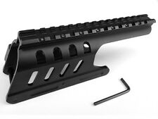 12 GA Remington 870 Compatible Saddle Weaver Picatinny Rail Mount Shotgunn Mount