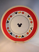 Disney Theme Parks Mickey Mouse Serving Bowl Pasta Vegetable Dish 13 Inches