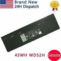OEM Genuine WD52H Battery For Dell Latitude 12 7000 E7240 E7250 GVD76 KWFFN 45Wh