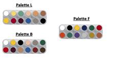 Grimas Creme Based Face Paint Palette (B, F, L & V)