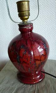 WMF Ikora Lampe  - 30er Jahre Art Deco Glaslampenfuß bauhaus