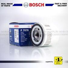 FORD MAZDA 121 2 VOLVO C30 S40 S60 S80 V40 V50 V60 BOSCH OIL FILTER P7078