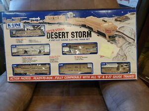 K-Line K1125 Operation Desert Storm O Gauge Diesel Train new in box