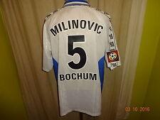 "Vfl bochum globe Trotter matchworn camiseta 2000/01 ""Faber"" + nº 5 milinovic talla XL"