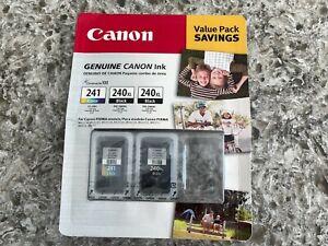 Canon 240XL & 241 Black & Color Ink Cartridges | PG-240XL Genuine Sealed Ink