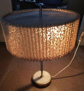 DDR Retro Lampe 50er Jahre, Stehlampe, Vintage, Leuchte, voll funktionsfähig