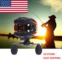 10+1BB Ball Bearings Right Hand Bait Casting Fishing Reel High Speed 6.3:1 G1L5