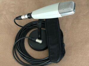 Sennheiser MD 421-2 Mikrofon mit XLR Anschluss + Halterung + Stativ + 10m Kabel