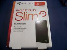 Seagate Backup Plus Slim STDR2000100  2 TB HD - External - Portable