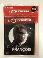 claude francois concerts mythiques de l'olympia 1964 1 cd + 1 livre neuf blister