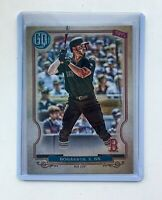 2020 Topps Gypsy Queen Xander Bogaerts Players Weekend Image Variation SP