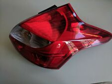12-14 Ford Focus Passenger RH Tail Lamp Gasoline Hatchback Fits DM5Z13404C