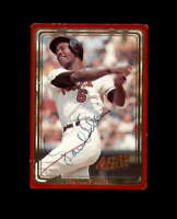 Paul Blair Hand Signed 1993 Action Packed Baltimore Orioles Autograph